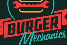 Burger mechanics brand design